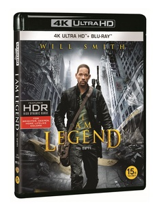 BLU-RAY / I AM LEGEND (2D+4K UHD) LE