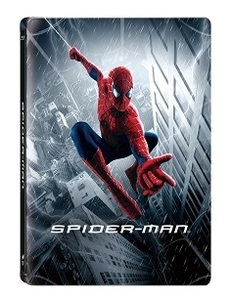 BLU-RAY / SPIDER MAN 1 STEELBOOK LE (MASTERED IN 4K)