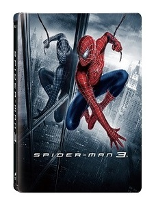 BLU-RAY / SPIDER MAN 3 STEELBOOK LE (MASTERED IN 4K)