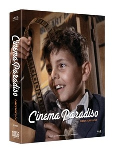 BLU-RAY / NUOVO CINEMA PARADISO PLAIN EDITION (DIRECTOR'S CUT + THEATRICAL )