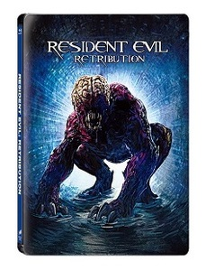BLU-RAY / RESIDENT EVIL : RETRIBUTION STEELBOOK LE
