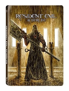 BLU-RAY / RESIDENT EVIL : AFTER LIFE STEELBOOK LE