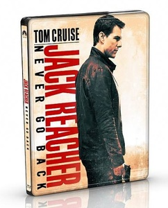 BLU-RAY / JACK REACHER : NEVER GO BACK STEELBOOK LE