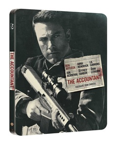 BLU-RAY / THE ACCOUNTANT STEELBOOK LE (1 DISC)