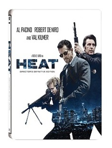 BLU-RAY / HEAT STEELBOOK LE (2 DISC)