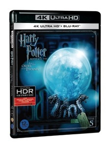 BLU-RAY / HARRY POTTER AND THE ORDER OF THE PHOENIX (2D+4K UHD)