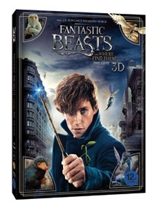BLU-RAY / FANTASTIC BEASTS AND WHERE TO FIND THEM (2D+3D)