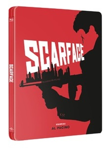 BLU-RAY / SCARFACE STEELBOOK LE
