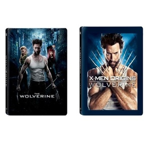 BLU-RAY / THE WOLVERINE + WOLVERINE THE ORIGINAL MAGNETIC STEELBOOK LE