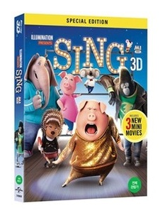 BLU-RAY / SING 2D + 3D LE