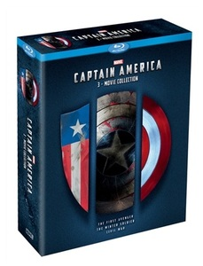 BLU-RAY / CAPTAIN AMERICA 3 MOVIE COLLECTION