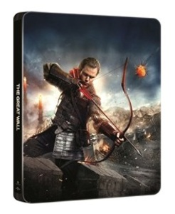 BLU-RAY / THE GREAT WALL STEELBOOK (2D+3D) LE