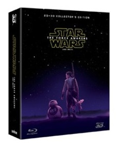 BLU-RAY / STAR WARS: EPISODE VII - THE FORCE AWAKENS COLLECTOR'S EDITION 2D+3D (DIGIBOOK)