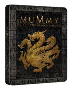 BLU-RAY / THE MUMMY : TOMB OF THE DRAGON EMPEROR STEELBOOK LE