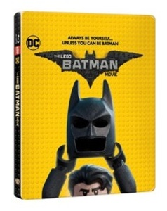 BLU-RAY / THE LEGO BATMAN MOVIE STEELBOOK LE (2D+3D)