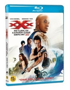 BLU-RAY / xXx : RETURN OF XANDER CAGE (2D+3D)