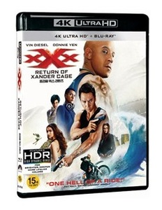 BLU-RAY / xXx : RETURN OF XANDER CAGE (2D+4K UHD)