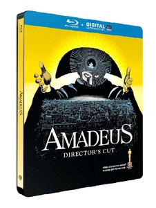 BLU-RAY / AMADEUS STEELBOOK LE (DIRECTOR'S CUT)