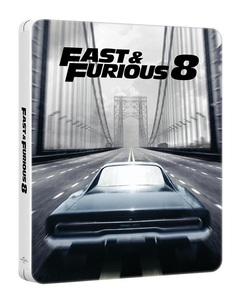 BLU-RAY / FAST AND FURIOUS 8 WHITE STEELBOOK LE