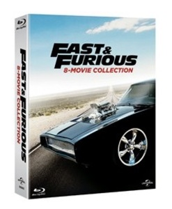 BLU-RAY / FAST AND FURIOUS 8 MOVIE COLLECTION (8 DISC)