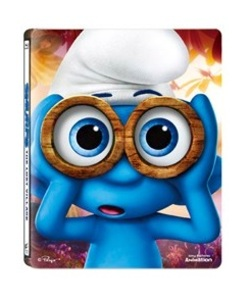 BLU-RAY / SMURF : THE LOST VILLAGE STEELBOOK LE (2D+3D)