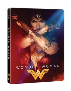 BLU-RAY / WONDER WOMAN STEELBOOK LE (2D+3D)