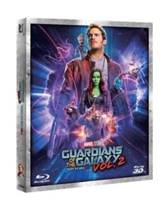 BLU-RAY / GUARDIANS OF THE GALAXY VOL.2 (2D+3D)