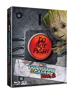 BLU-RAY / GUARDIANS OF THE GALAXY VOL.2 STEELBOOK LE (2D+3D)