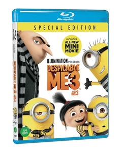 BLU-RAY / DESPICABLE ME 3 (2D)