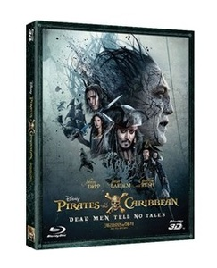 BLU-RAY / PIRATES OF THE CARIBBEAN : DEAD MEN TELL NO TALES (2D+3D)