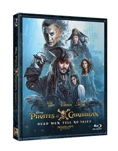 BLU-RAY / PIRATES OF THE CARIBBEAN : DEAD MEN TELL NO TALES (2D)