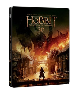 BLU-RAY / HOBBIT 3 : THE BATTLE OF THE FIVE ARMIES STEELBOOK LE (2D+3D)