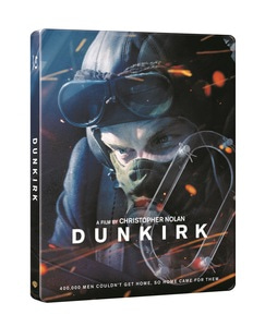 BLU-RAY / DUNKIRK 4K STEELBOOK (3 DISC)