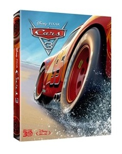 BLU-RAY / CARS 3 STEELBOOK LE (3 DISC)