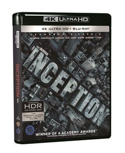 BLU-RAY / INCEPTION (2D+4K UHD+BONUS DISC)