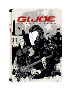 BLU-RAY / G.I.JOE RETALIATION STEELBOOK LE