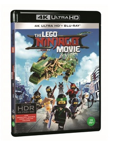 BLU-RAY / LEGO NINJAGO MOVIE LE (2D+4K UHD)