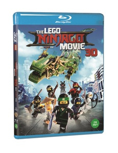 BLU-RAY / LEGO NINJAGO MOVIE (2D+3D)