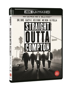 BLU-RAY / STRAIGHT OUTTA COMPTON (2D+4K UHD)
