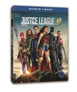 BLU-RAY / JUSTICE LEAGUE (2D+3D)