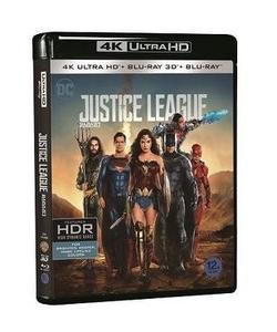 BLU-RAY / JUSTICE LEAGUE 4K UHD+2D+3D LE (3 DISC)