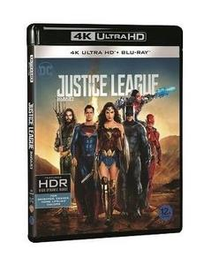 BLU-RAY / JUSTICE LEAGUE 4K UHD+2D LE (2 DISC)