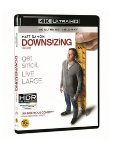 BLU-RAY / DOWNSIZING 4K LE (2D+4K UHD)