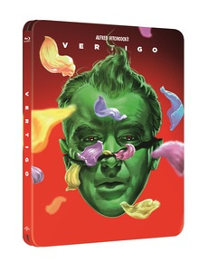 BLU-RAY / VERTIGO 60TH ANNIVERSARY STEELBOOK LE