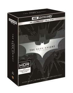 BLU-RAY / THE DARK NIGHT TRILOGY 4K LE (9 DISC)