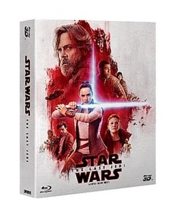 BLU-RAY / STAR WARS : THE LAST JEDI STEELBOOK LE (3 DISC)