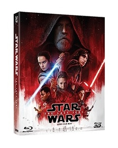 BLU-RAY / STAR WARS : THE LAST JEDI 2D+3D COMBO (3 DISC)