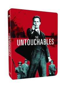 BLU-RAY / THE UNTOUCHABLES STEELBOOK LE
