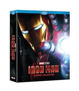 BLU-RAY / IRON MAN 3 MOVIE COLLECTION