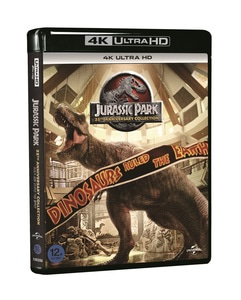 BLU-RAY / JURASSIC PARK COLLECTION 25TH ANNIVERSARY 4K LE (4 DISC)
